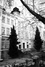 Сградата на университета - 20-те години на миналия век