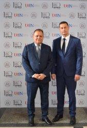Председателят на ВАС се срещна с академичното ръководство на ИУ – Варна
