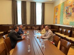 Meeting between UE – Varna and Odessa State Agrarian University