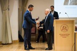 Връчени бяха годишните награди на Фонда за подпомагане на талантливи студенти в Икономически университет – Варна