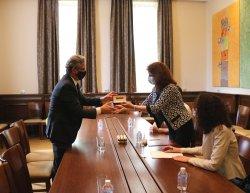 Възможности за сътрудничество между испански висши училища и ИУ – Варна бяха обсъдени на работна среща