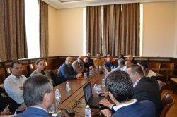 ИУ – Варна посрещна гости от две висши училища в Палестина