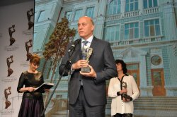 """Prize """"Building of the Year 2015"""" for the University of Economics – Varna, December 2015"""