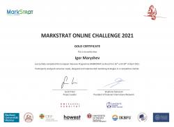 Златни медали за студенти от ИУ – Варна в Dukenet Spring Markstrat Challenge'2021