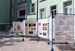 Двор на основна сграда на Икономически университет – Варна